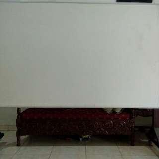 white board 2 sisi