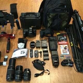 CANON EOS MARK II RUSH AND URGENT SALE WITH SET