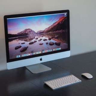 "Imac 27"" Retina 5k display 32GB/2TB Late 2015, in perfect condition!"