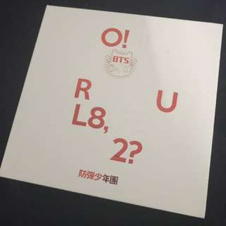 BTS O!RUL82? album with photo cards