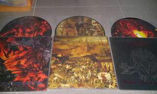 Angelcorpse 3 x Pic LP