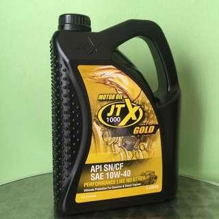 JTX 1000 Gold 4 Litres Motor Oil