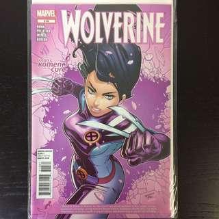 Wolverine #315 Komen Variant