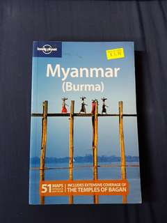 Myanmar Burma Lonely Planet guide