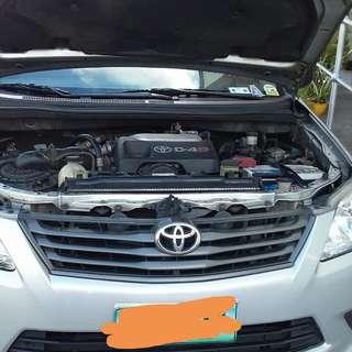 2013 Toyota Innova J MT Diesel Silver