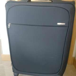 Samsonite 深藍色 行李喼