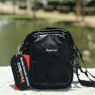 Supreme Sling Bag Square Design(Black)