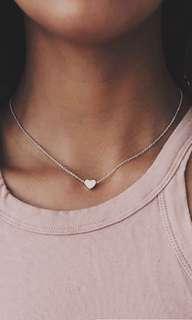 Women love heart choker necklace collar chain