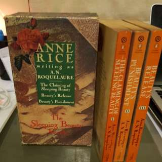 ANNE RICE EROTIC TRILOGY SLEEPING BEAUTY