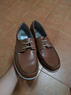 For Sale: Clarks boat shoes (brown)
