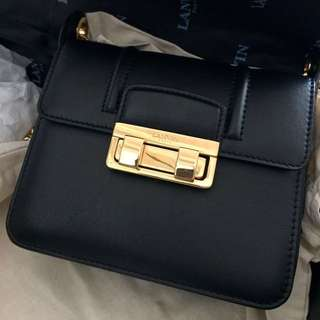 Lanvin small jiji chain leather bag
