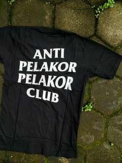 Kaos Anti Pelakor Pelakor Club assc