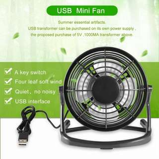 Portable Plastic USB Fan