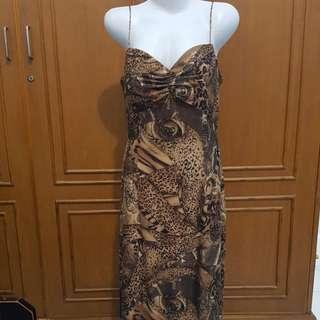 Leopard gown