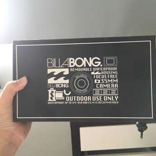 Billabong Waterproof Camera nib