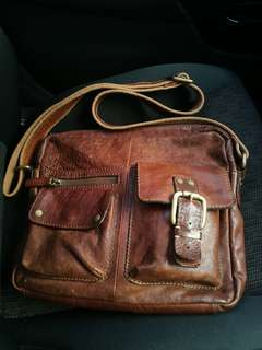 Fossil Sling Bag Leather Tiptop