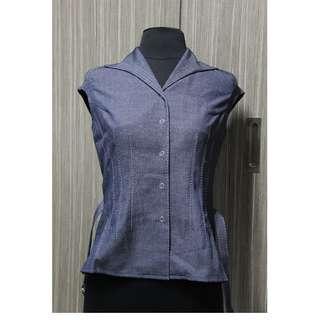 Sleeveless Blouse - Jeans Type