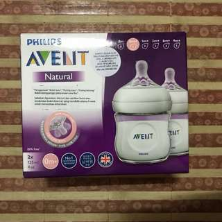 AVENT Natural Baby Bottle 125ml 4oz 4pcs