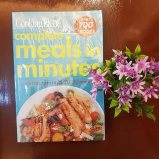 Meals in Minute book