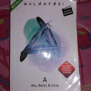 Novel A (Aku,Benci,&Cinta)