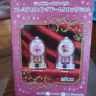 日本disney公主座鐘