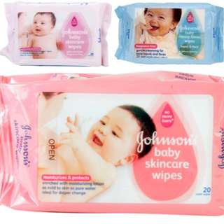Baby Skincare / Messy Time / Fragrance Free Wet Wipes 20 Sheets (6 for 15)