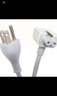AC Power Adapter Extension Wall Cord Cable for Apple Mac