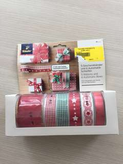 Ribbons and bow, craft