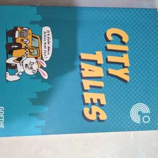 Comic Germany City Tales