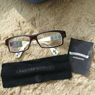 Chrome Hearts glasses 眼鏡, 100%Real