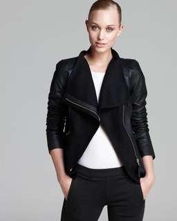 Mackage Armada leather jacket black