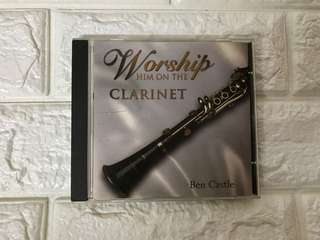 Worship HIM on the Clarinet by Ben Castle CD