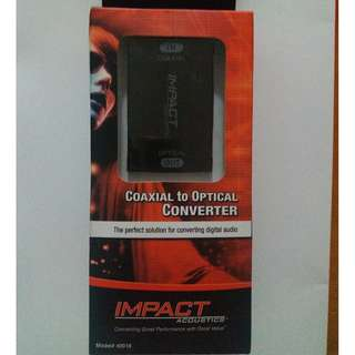 New Coaxial To Optical Digital Audio Converter