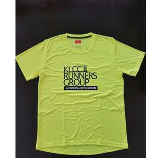 KLCC Runners Group  running dri-fit shirt (NEW)  #nogstday