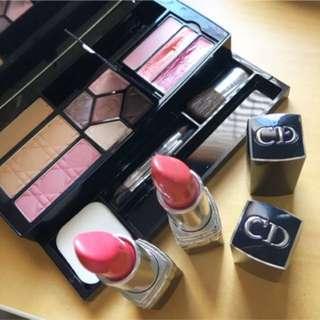 Christian Dior Beauty Bulk Lipsticks Makeup Authentic!