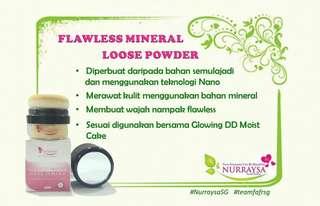 Flawless Mineral Loose Powder Nurrasya