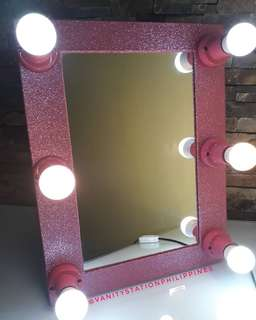 Portable Vanity Mirror with Padded Gig Bag - High Quality