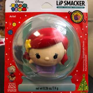 Tsum Tsum Ariel Christmas Edition Mermazing Grapefruit Lip Smacker