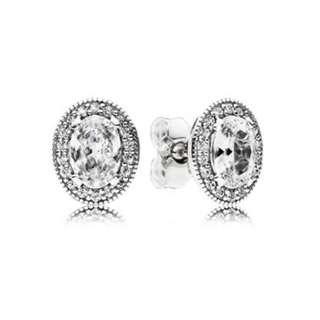 Pandora Vintage Elegance Stud Earring