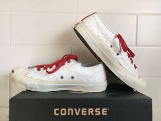 Converse Jack Purcell Leather Specialty Ox Low Tops / Women's Sz 7.5
