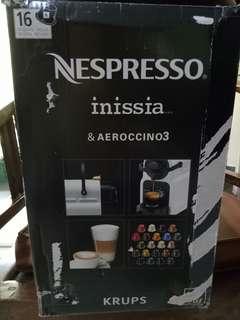 JUAL MURAH !!! Nespresso coffee maker Innisia & aerocinno3