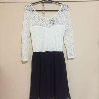 Bershka lace dress
