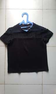 Forever 21 Shirt See-Through Shoulder