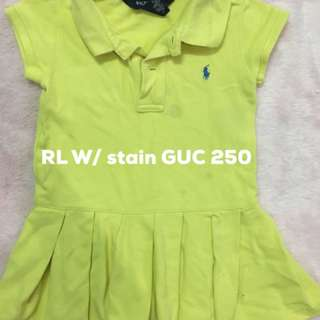RL GUC with stain