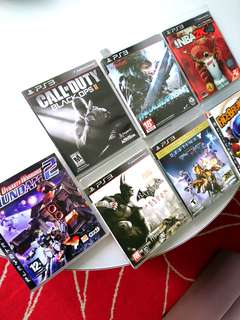 PS3 Game Sale!