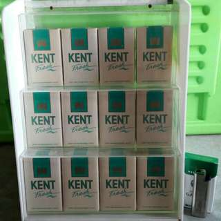 Display rack rokok kent