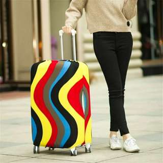 $15.90 free mail Elastic Luggage Suitcase Cover Protective Bag Dustproof Cover