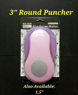 """3"""" Round Puncher"""