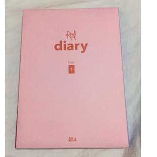 ON HAND UN SEALED BOLBBALGAN4 RED DIARY  ALBUM