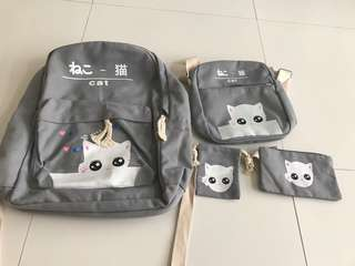 Grey bag set